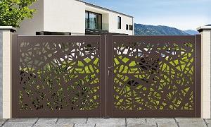Fantastique Fourniture et installation de portail Alu ou PVC ZR-52